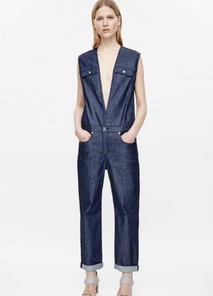 Комбинезон джинсовый стильный модный фирменный cos размер 36 или s
