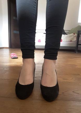 Туфли на танкетке braska