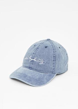 Джинсовая кепка pull&bear3