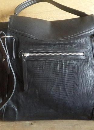 Большая сумка noleti  натуральная кожа