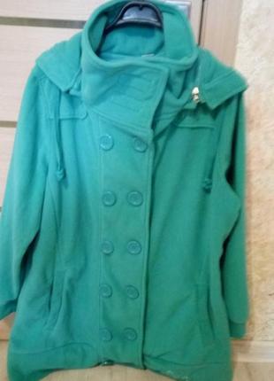 Куртка флиска пальто флисовое , германия,размер 54-56