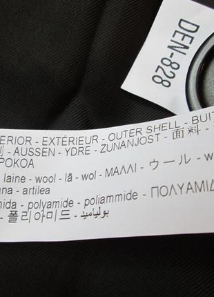 Пальто zara в клетку размер м3 фото