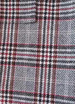 Пальто zara в клетку размер м4 фото