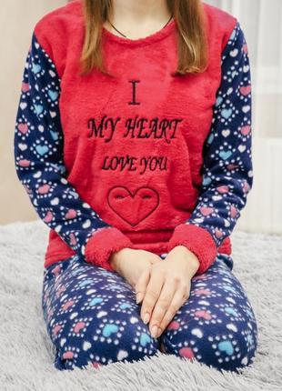 Теплая женская пижама 8f5040ba817de