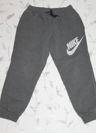 Теплые спортивные штаны nike размер м