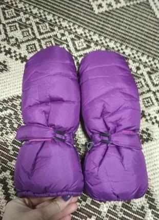 Отличные тёплые рукавицы варежки на thinsulate