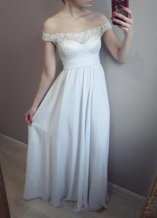 Свадебное или вечернее нарядное платье 49a344e7f1f39
