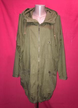 Легкая куртка карго пыльник gudrun sjoden 48 р/швеция