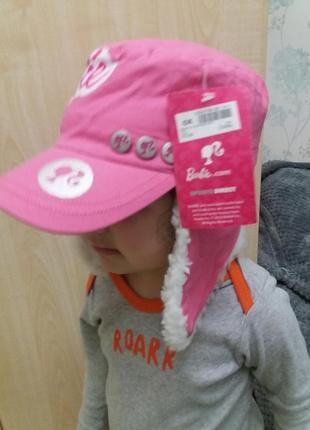 Шапка кепка  barbie