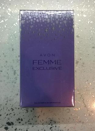 Avon femme exclusive 50ml парфюмерная вода