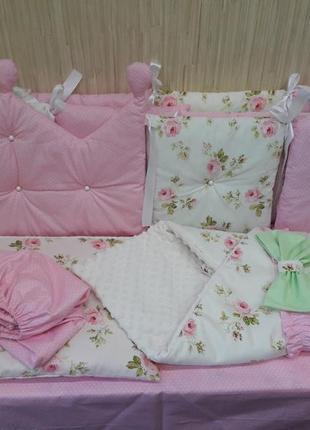 Набор в кроватку для маленькой принцессы