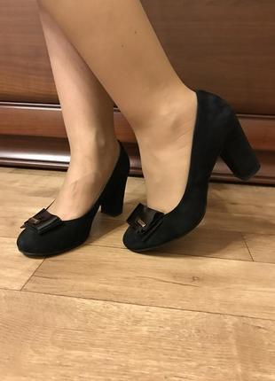 Туфли замшевые grado