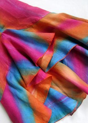 Sensa donna/итальянский льняной костюм /яркий костюм из льна с эффектом градиента 🇮🇹6