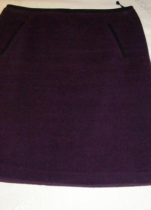 Теплая юбка на подкладке