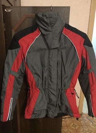 Тёплая мото куртка hein gericke