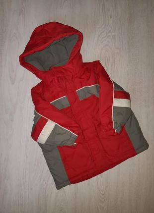 Демисезонная куртка mothercare 1,5 - 2 года