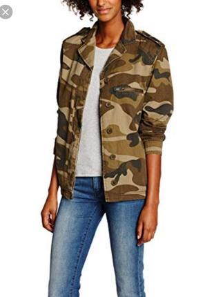 Камуфляжная куртка шерпа на меху курточка