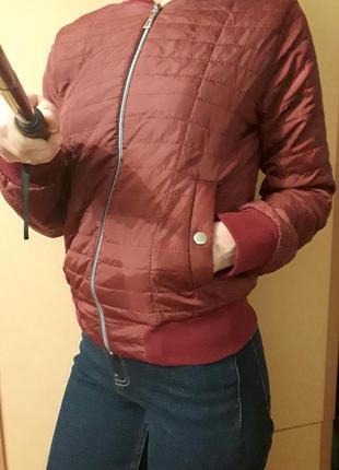 Куртка бомбер весенняя осенняя