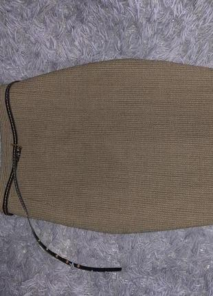 Крутая брендовая юбка от фирмы ernesto chiari misto lana
