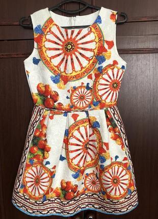 Платье летние / платье жаккард