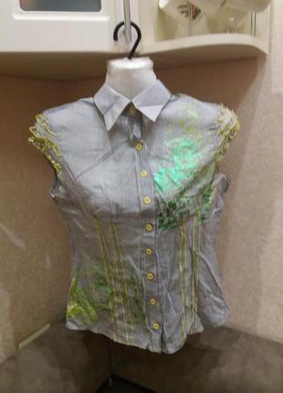 Рубашка блузка-хс