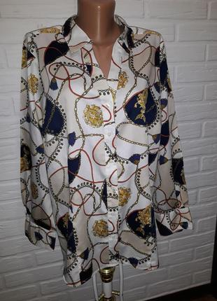 Оригинальная блуза рубашка от tommy hilfiger