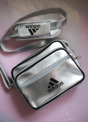 Сумка adidas металлик crossbody