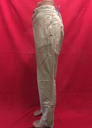 Прямые легкие брюки в клеточку2