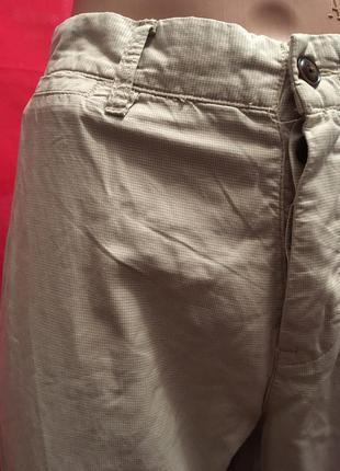 Прямые легкие брюки в клеточку4