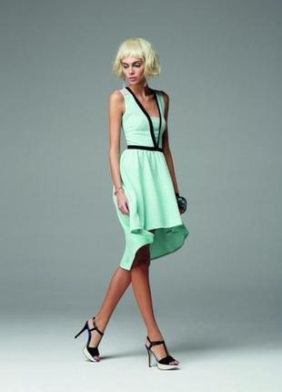 Мятное платье kira plastinina