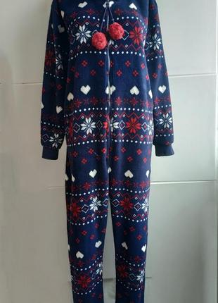 Чудесный теплый домашний комбинезон пижама кигуруми f94da56dc3037