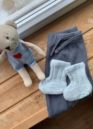 Носочки пинетки 100% шерсть мериноса