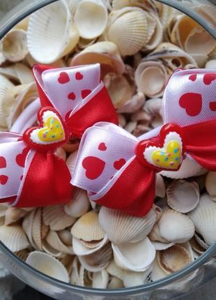 Бантики с сердечком