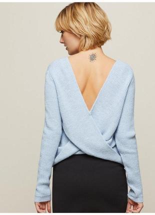 Светр/свитер з красивою спинкою miss selfridge