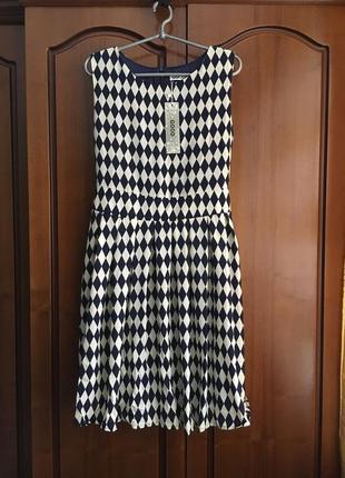 Шифоновое платье с пояском на подкладке good