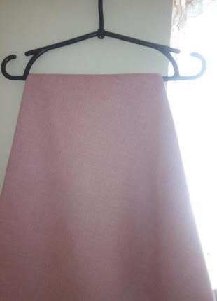 Сиренево-розовая, круглая скатерть диаметр 77см, германия
