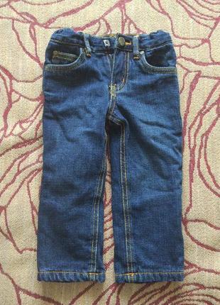 Термо джинсы на девочку