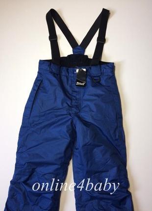 Детские лыжные штаны crivit на мальчика 6-8,12-14 лет