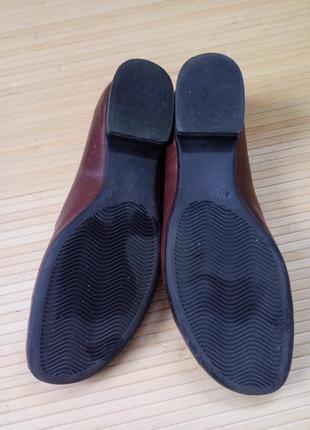 Кожаные туфли caprice walking on air5