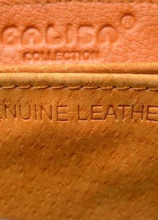 Большой кожаный лаковый кошелек gold, 100% натуральная кожа, есть доставка бесплатно6 фото