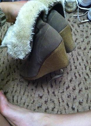 Осенние ботинки tally weijl