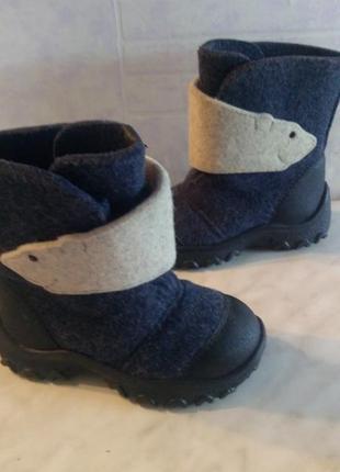 Валенки зимние сапожки ботинки kapika