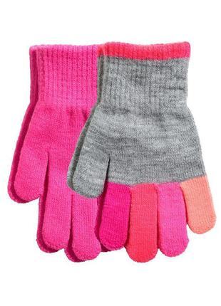 Розпродаж!!! рукавички, перчатки h&m 1.5-4, 4-8 лет