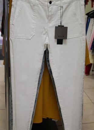 Красивые белые джинсы от vila