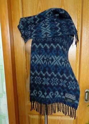 Стильный шарф  шотландия