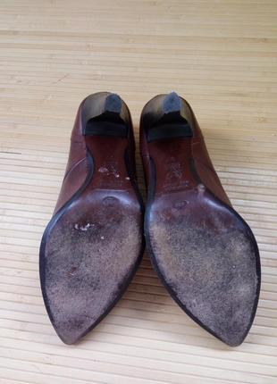 Кожаные туфли с заклёпками lea fascatty4 фото