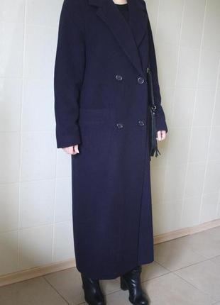 Продам серое шерстянное пальто  & бойфренд &