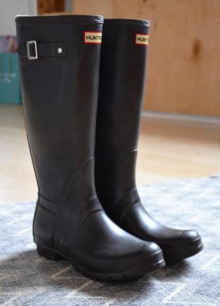 Резиновые сапоги крутого американского бренда hunter1