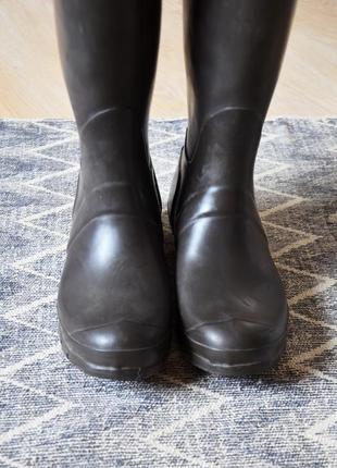 Резиновые сапоги крутого американского бренда hunter3