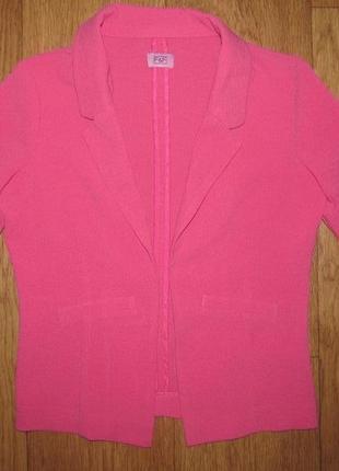Фирменный стильный пиджак  f&f моднице 5-6 лет